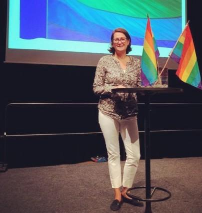 Jeanette Ohlsson föreläser om integration
