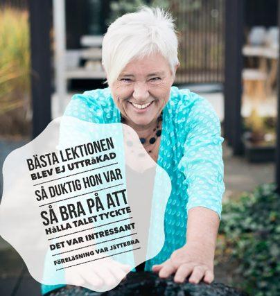 Boka Helén Andersson för en föreläsning om entreprenörskap och karriär.