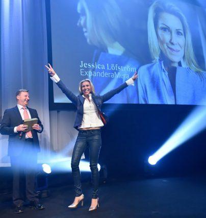 Boka en föreläsning med entreprenör Jessica Löfström från Expandera Mera prisad av SvD Affärsbragd