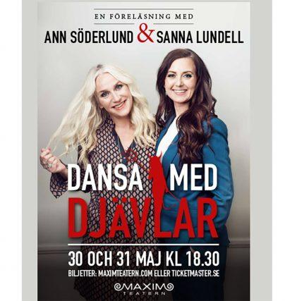 Boka en föreläsning med Ann Söderlund och Sanna Lundell om medberoende och beroende.