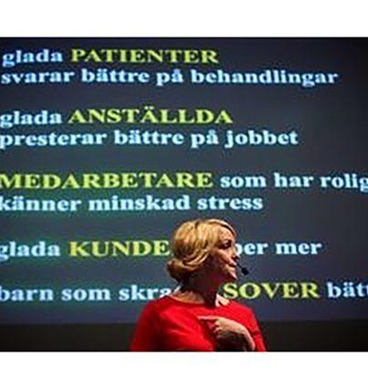 Öppna föreläsningar med Karin Adelsköld - få roligare på jobbet.