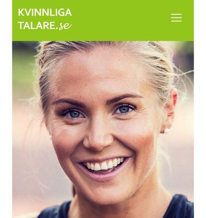 Boka en föreläsning med träningsexperten Lovisa Lofsan Sandström om hälsa, friskvård, motivation och kost.
