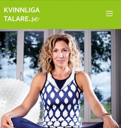 Boka en föreläsning med talare Leila Söderholm på tema friskvård, träning, motivation och hälsa.