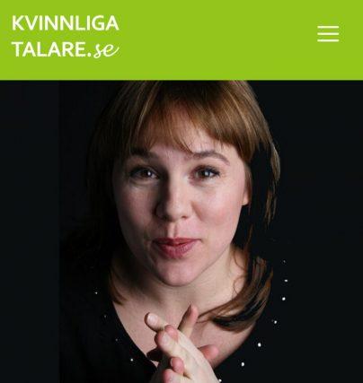 Boka komiker och talare Malin Appeltofft för standup eller föreläsning för skolan.