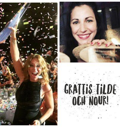 Nour el Refai Årets kvinnliga komiker och Tilde de Paula Årets kvinnliga programledare!