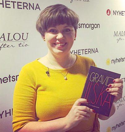Pernilla Alexandersson är jämställdhetsexpert och författare till boken Gravidilska.
