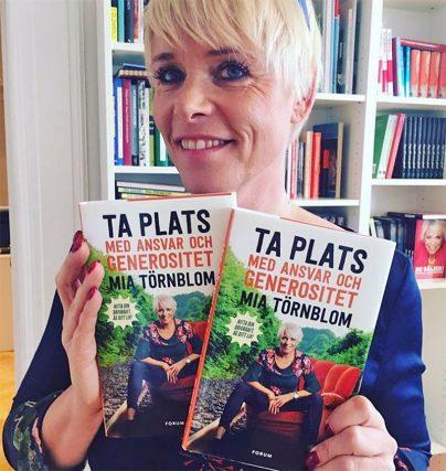Ta plats med ansvar och generositet - ny bok av Mia Törnblom!