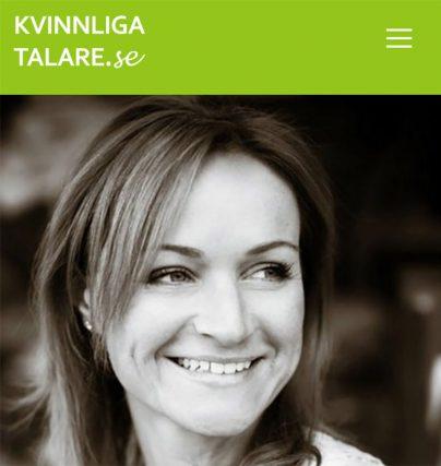 Boka en föreläsning med tech-entreprenör Susanne Birgersdotter!