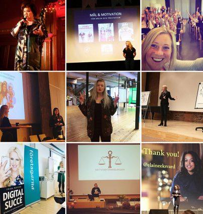 April april - ett urval av föreläsningsuppdrag hos Kvinnligatalare.se