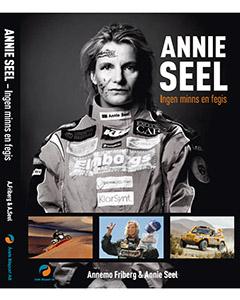 Boka en föreläsning med rallyprinsessan Annie Seel som är aktuell med boken Ingen minns en fegis!