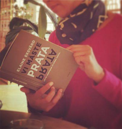 Vi måste prata är Elaine Eksvärds nya bok!