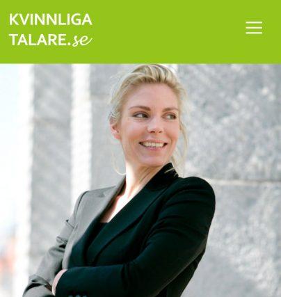 Föreläsning med talare Christina Bengtsson officer och världsmästare i skytte.