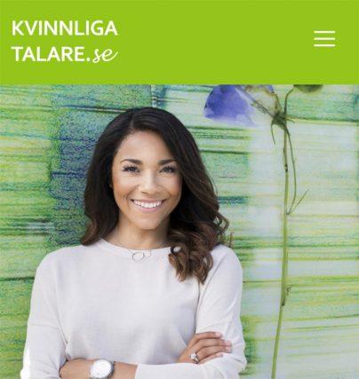 Ny talare: Christina Rickardsson författare till boken Sluta aldrig gå.
