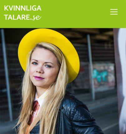 Talare Sofie Lindblom fd innovationschef på Spotify är ny föreläsare hos oss!