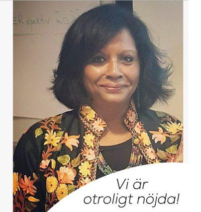 Fina ord efter Sonia Sherefays föreläsning i Finland om föräldraskap och integration.