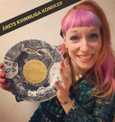 Josefin Johansson är Årets kvinnliga komiker 2018!