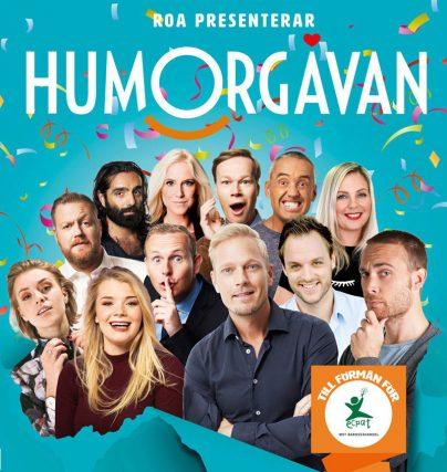 Humorgåvan är en roliga standupshow med viktigt syfte!