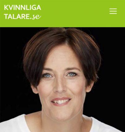 Föreläsare Eva Svärd är författare till Mitt mod - genom utmattningssyndrom och föreläser om utmattning.