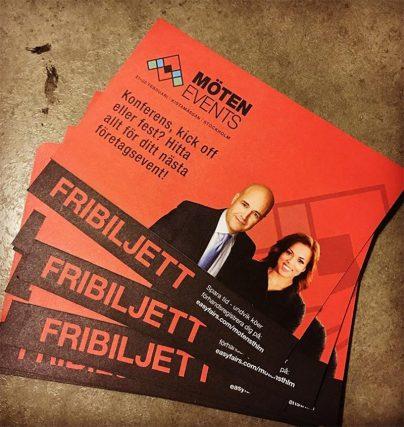 Eventmässan Möten & Events bjuder på gratis föreläsningar med bla Elaine Eksvärd och Eva Svärd.