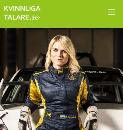 Boka extremsportaren och föreläsare Ramona Karlsson för en föreläsning om motorsport, entreprenörskap, mål och team.