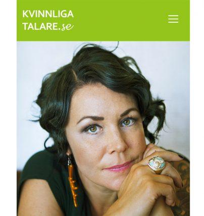 Boka en föreläsning med talare Maria Sveland - författare till Bitterfittan.