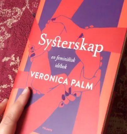 Systerskap - en feministisk idébok av föreläsare Veronica Palm.