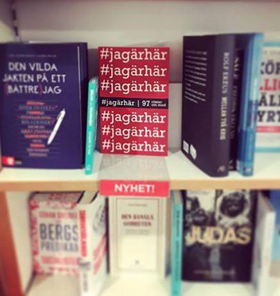 Mina Dennert är aktuell med boken #jagärhär om mod, frihet och kärlek.