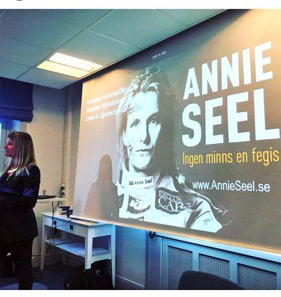 Fin referens för Annie Seel och hennes föreläsning!