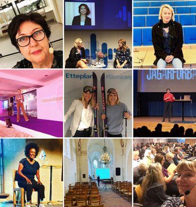 Tack september för roliga talaruppdrag och föreläsningar.