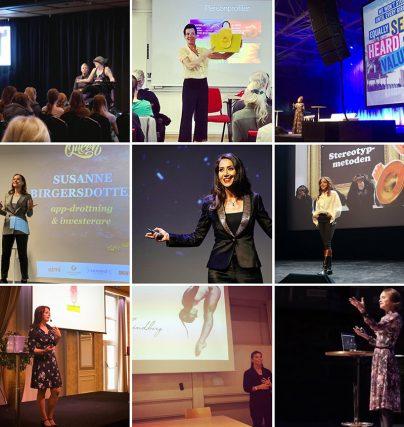 Talaruppdrag oktober 2019 - föreläsningar, konferencier och komiker.