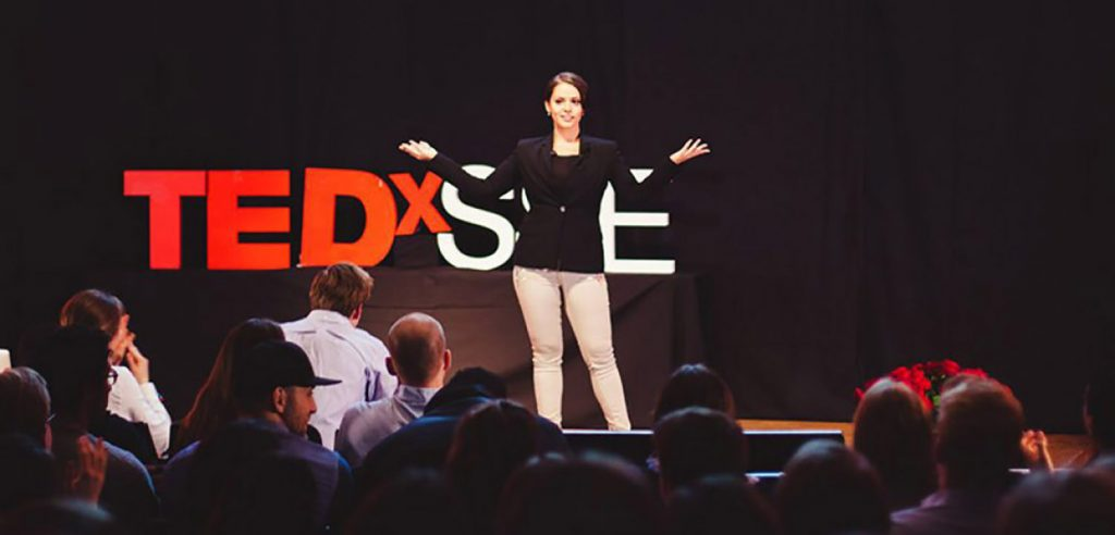 TEDx föreläsare.