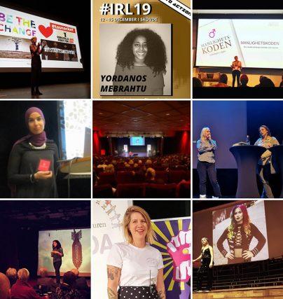 Säsongsavslutning på eventåret 2019 med talare, föreläsare, konferencierer och komiker.